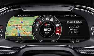 Audi совместно с Google внедряют новую систему управления автомобилем