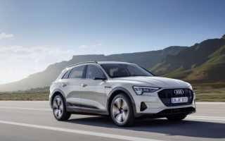 Все что нужно знать о первом электрическом внедорожнике Audi E-Tron