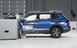 Краш- тест Volkswagen Tiguan (2009- 2013)