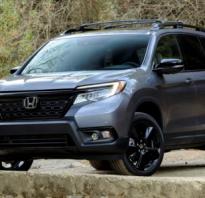 Honda Passport 2019 года — это что-то среднее между CR-V и Pilot