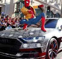 2018 Audi A8- неофициальный показ на премьере нового фильма о Человеке- пауке