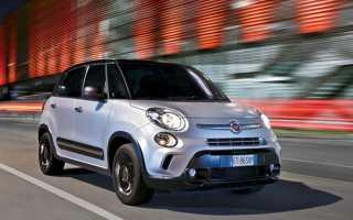 Краш-тест Fiat 500L (2014)