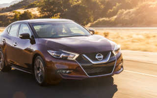 Краш-тест 2016 Nissan Maxima