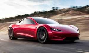 Tesla Roadster, 10000 Нм и 2,0 секунды до 100 км/ч