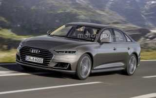 2017 Audi A6: Получит концептуальный стиль