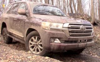 Тест-драйв Toyota Land Cruiser 200 на реальном бездорожье