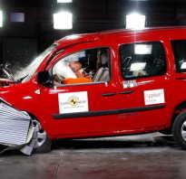 Видео краш- тестов Renault Kangoo