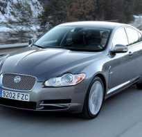 Jaguar XF — лучшие представительские автомобили