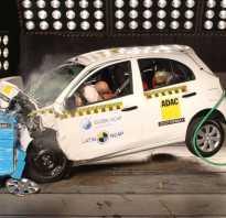Видео краш- тестов Nissan Micra (2003)