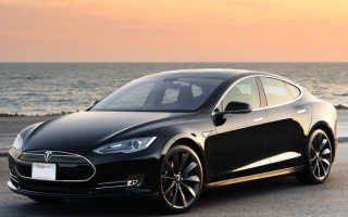 Электрокар Tesla Model S оштрафован за вредные выбросы в атмосферу