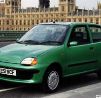 Видео краш- тестов Fiat Seicento (2000)