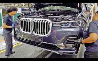 Видео, как собирают BMW X7