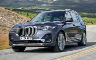 Концепцию 2019 BMW X7 показали в сети
