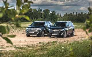 Краш-тесты Chevrolet Traverse