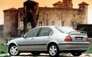Вот как менялся хэтчбек Honda Civic