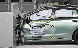 Краш- тест Subaru Impreza (2014)