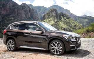 Краш-тест 2017 BMW X1